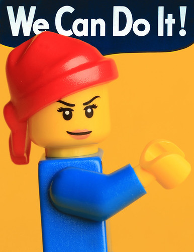 D'une affiche de propagande au féminisme, Rosie, We can do it 5457680239_950685586d