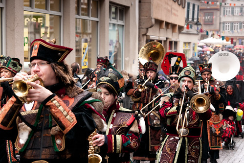 The Schwabian-Alemannic Fastnacht (Fasching) in Tubingen, Germany