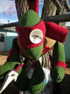tOkKustom :: CHOOKA FELT-UP RAPHAEL Hoodoo voodoo doll xxi