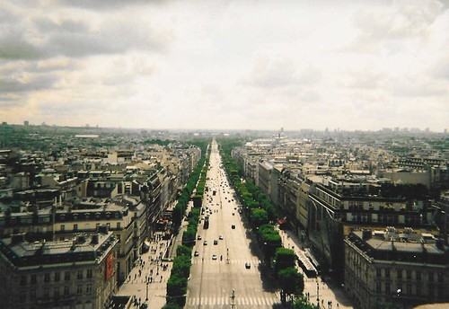 From the Arc De Triomphe