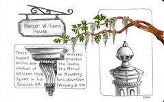 Mercer Williams House - Savannah, Georgia by Debo Boddiford