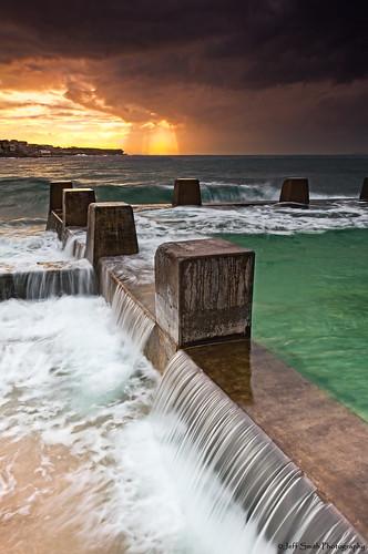 sunrise canon sydney australia lee newsouthwales filters coogee rockpool cs5 lr2