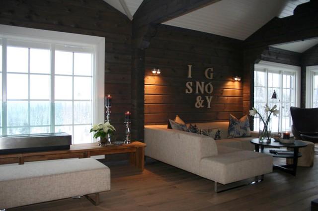 Interieur foto van een houten huis chalet of vakantiewoning flickr photo sharing - Interieur chalet berg foto ...