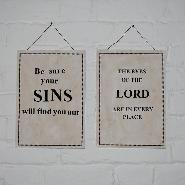 Sins of idolatry social injustice and