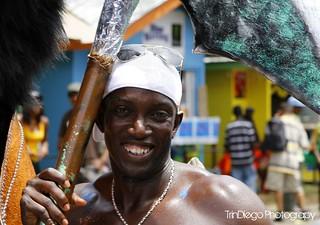 Dwight Yorke! Trinidad & Tobago Carnival 2K11