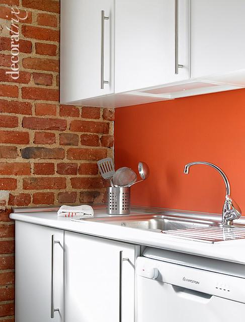 Una cocina con pared de ladrillo visto 2 flickr photo - Cocinas con ladrillo visto ...