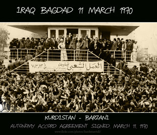 Autonomy accord agreement signed, March 11, 1970