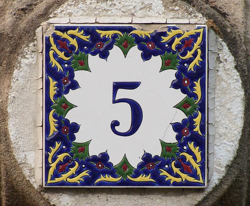 No 5 - Arabic