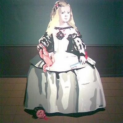 [ A ] Eduardo Arroyo - Las Meninas (Infanta Margarita I) by Cea.