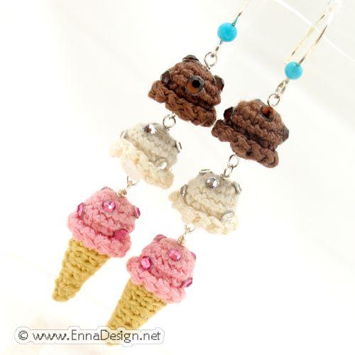 Mini Ice Cream Amigurumi : Micro Mini Amigurumi Ice Cream Cone Flickr - Photo Sharing!