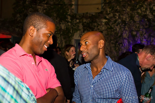 SXSW 2011 - Foursquare Party - Tristan Walker & Romany Malco