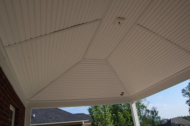 Vinyl Beadboard Porch Ceiling Panels