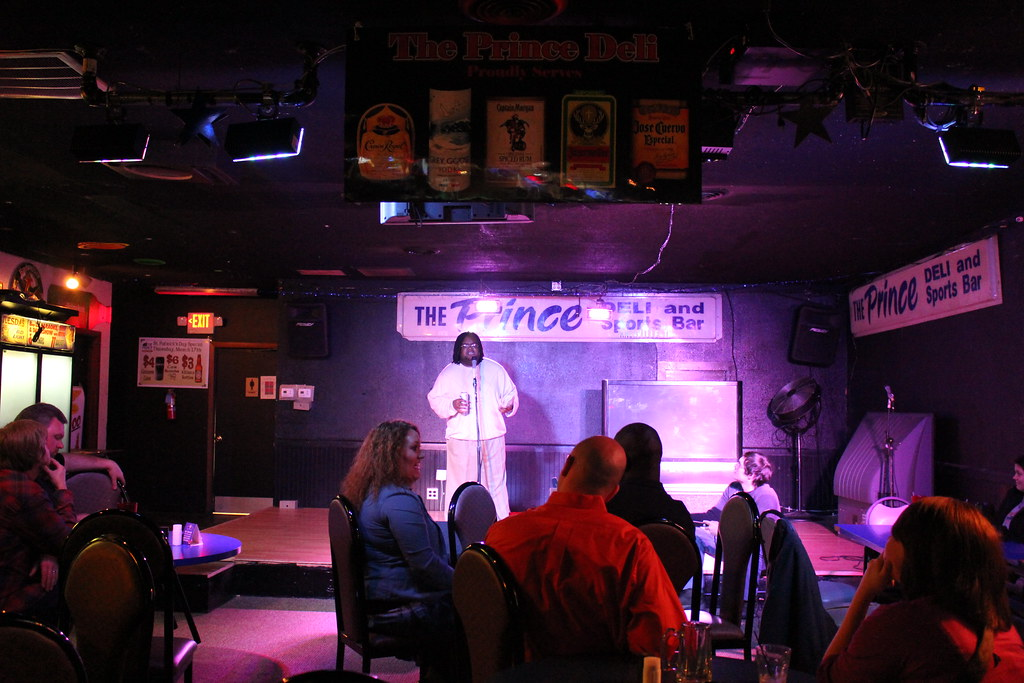 Knoxville Underground Comedy Show at the Prince Deli | Flickr