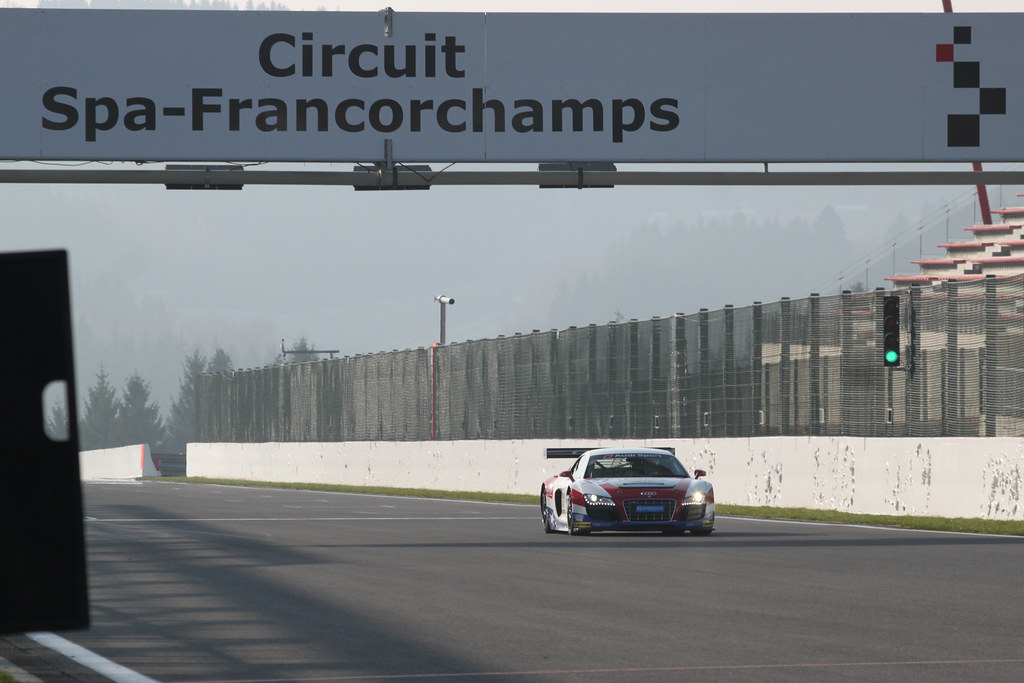 Spa Francorchamps test - March 2011
