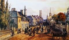 Montréal 1841. Rue Notre-Dame >Ouest.