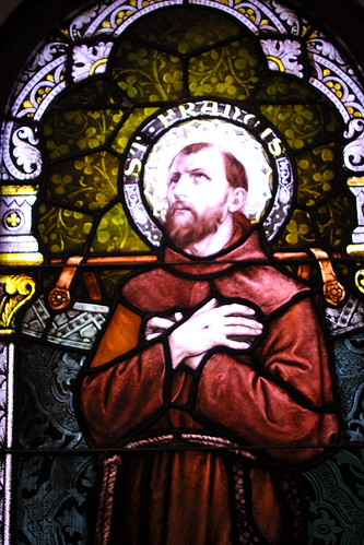 Sr. Mary's stained glass collection - St. Francis