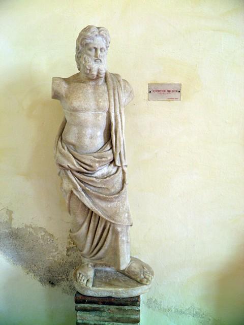 Statue of Zeus Soter, Museo Archeologico del Teatro Romano, Verona