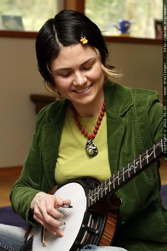 rachel w/nechville phantom banjo