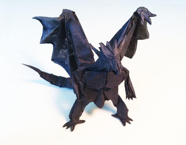 Origami Bahamut Divine Dragon | Flickr - Photo Sharing!  Origami Bahamut...