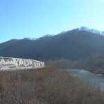 Matewan Flood Gate & Tug Fork River