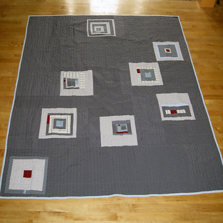 Sew Bee It Quilt Back