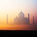 Taj Mahal Dawn by adams.co.tt