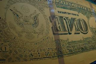 Dollar Stencil