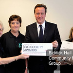 Biddick Hall Community Focus Group, winners of the Prime Minister