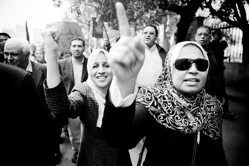 Marsch zum Tahrir-Platz