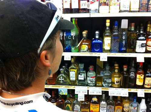 Post-race tequila shopping