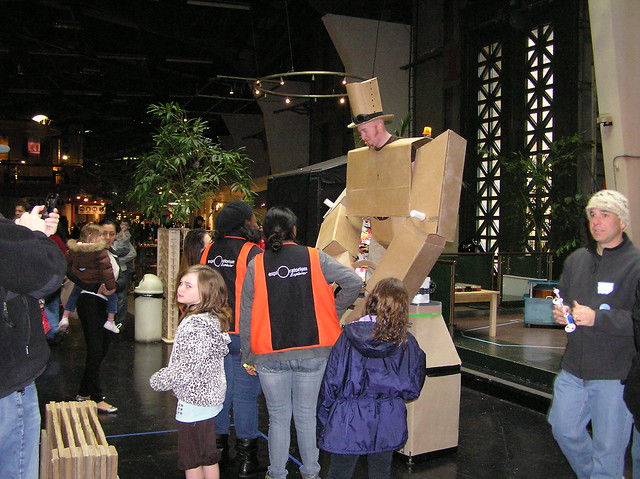 Exploratorium's Open MAKE: Cardboard