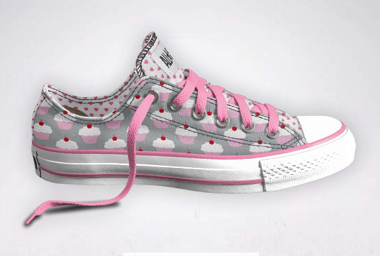 Converse Cupcake Tennis Shoes