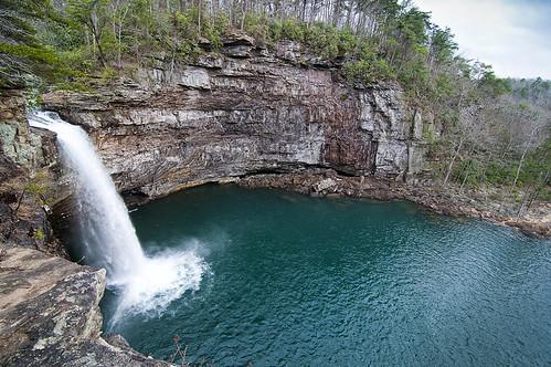 water waterfall turquoise alabama desotofalls