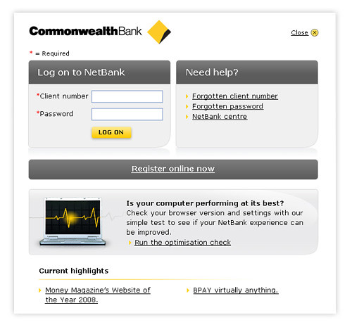 Flickr Commonwealth Netbank Commonwealth Bank Logon