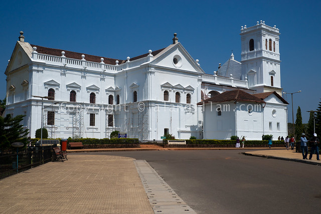 Se' Cathedral and the church of St Francis of Assisi Old, Goa, India