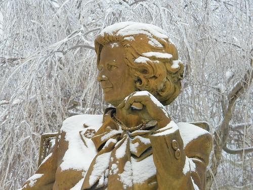 Margaret Thatcher Statue  (Hillsdale College, 2008)