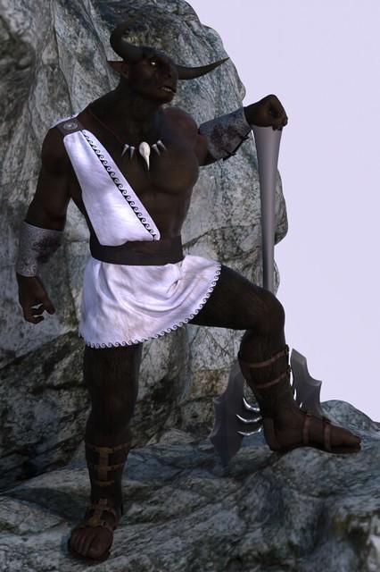 Minotaur Overlooking v1