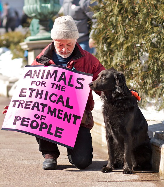 Animals for the Ethical Treatment of People