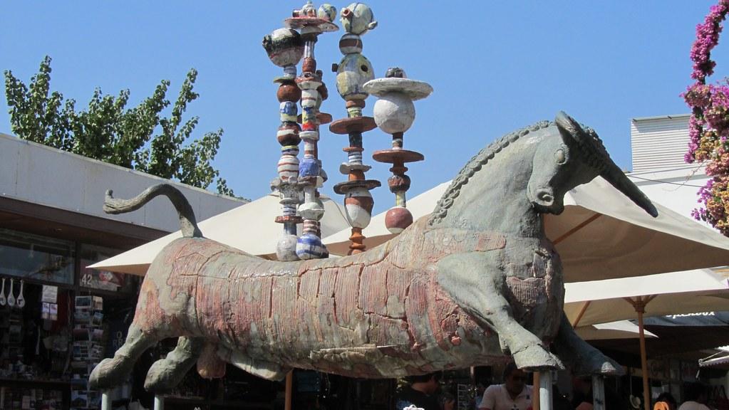 Bull under a china shop