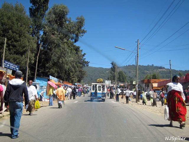 Entoto market, Ethiopia