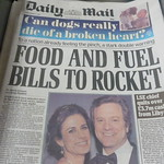 Food and Fuel Bills to Rocket
