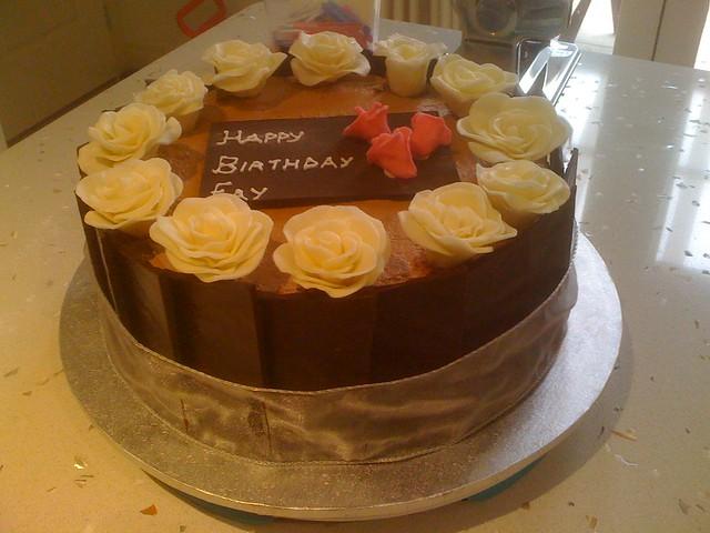 Aunt Fay's Kievski Torte Birthday Cake | Flickr - Photo Sharing!