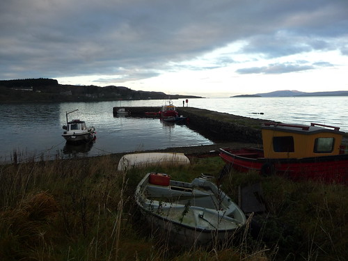 Sunset at Broadford, Isle of Skye