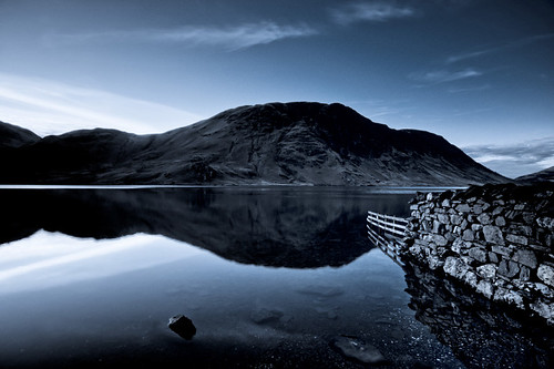 A Cold Day On Crummock Water