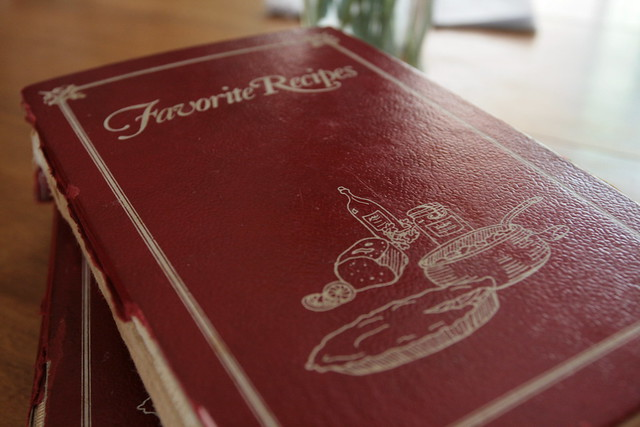 alice's old recipe books