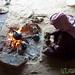 Preparing the Arabic Coffee - Wadi Rum, Jordan