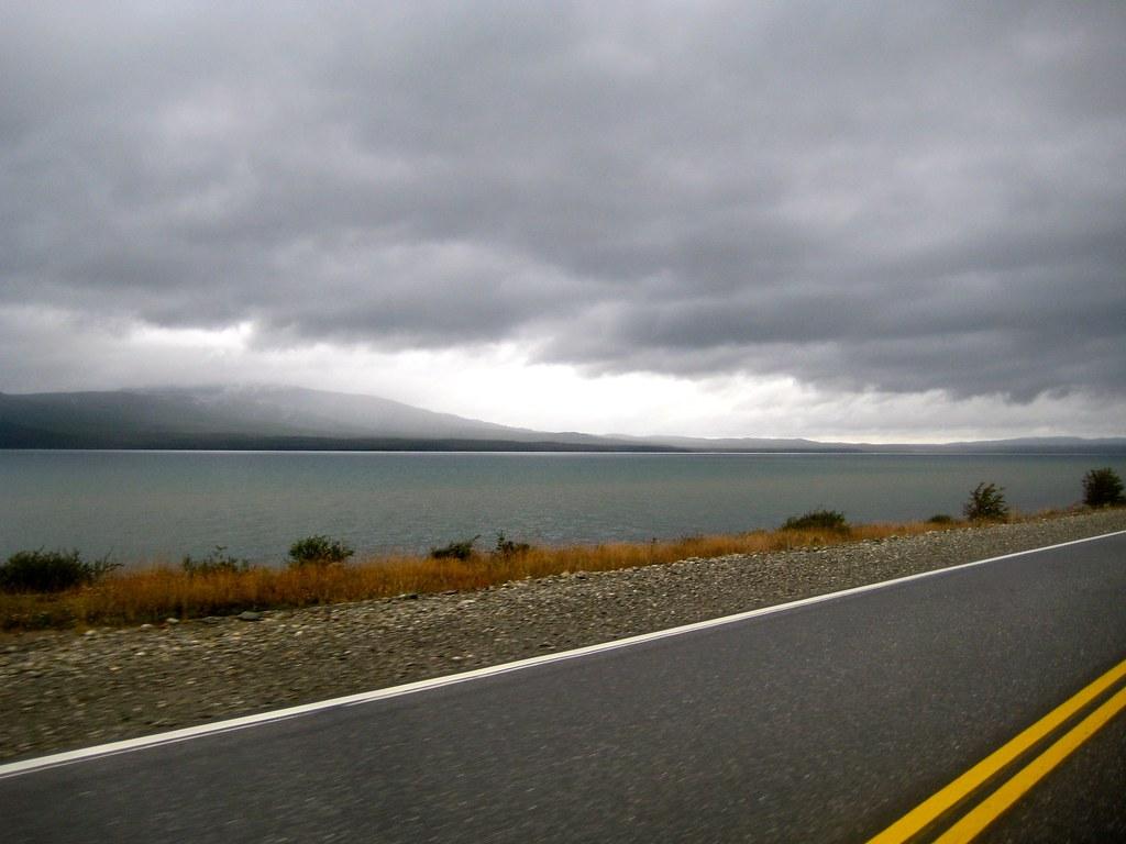 Routa 3 near Ushuaia