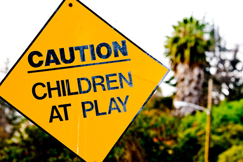 Caution, Children at Play
