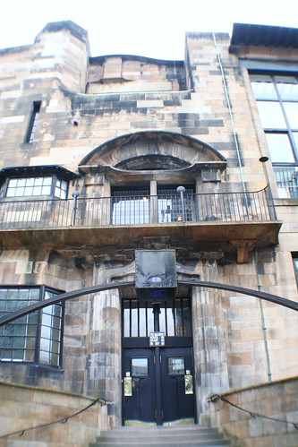 Main Entrance at Glasgow School of Art
