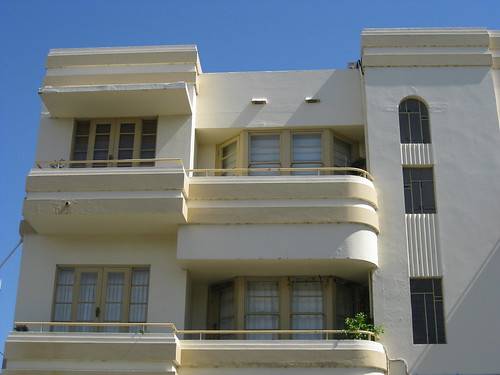 Art Deco Flats on the Corner of Powlett and Hotham Streets - East Melbourne